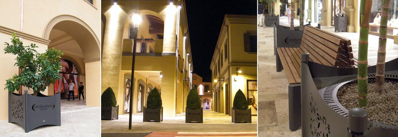 Ztl kuadra studio for City design arredo urbano